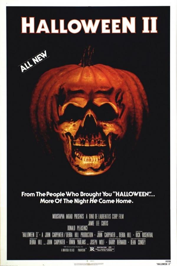 Horror Movie Posters I Love: Halloween II (1981) | DirtyHorror.Com