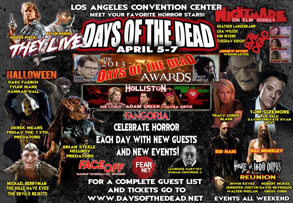 horror conventions Flashback weekend hosts horror conventions and events in chicago, il.