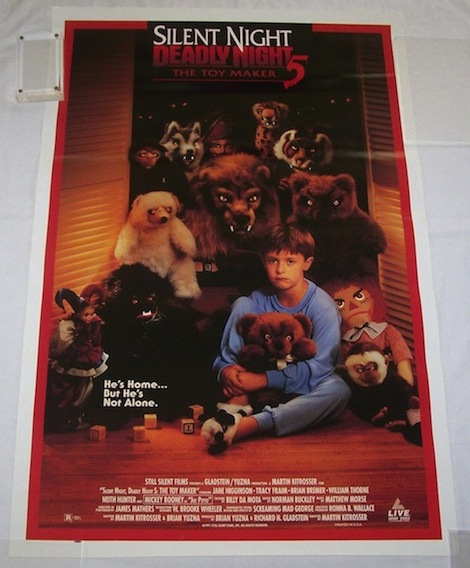 Ebay Find Of The Week: 'Silent Night Deadly Night 5: The ...