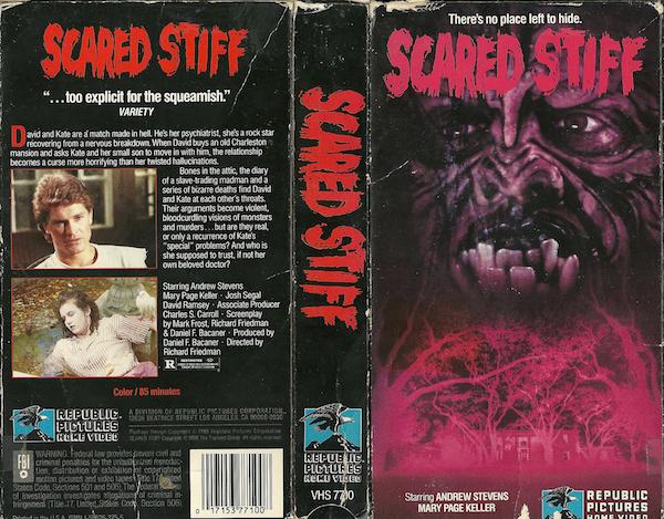 SCARED-STIFF