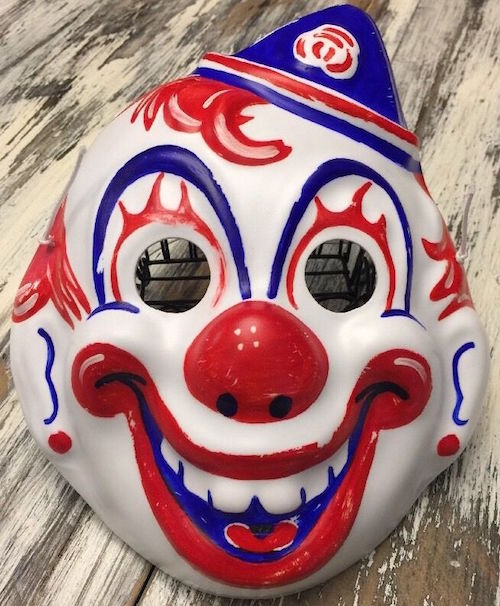 Halloween Clown Mask Michael Myers.Clown Mask Halloween Replica Dirtyhorror Com