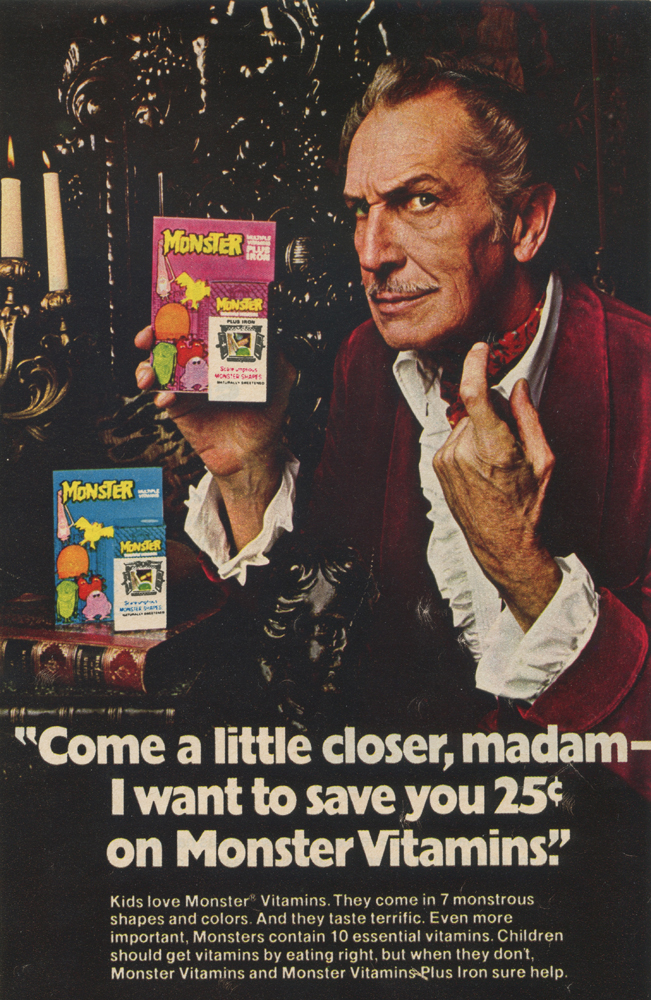 Feb 1975 Monster Vitamins Magazine Ad